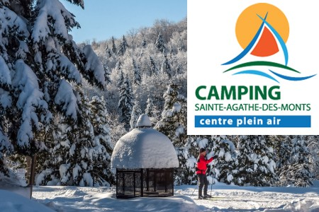 Camping Sainte-Agathe-des-Monts, centre plein air - Trails and Infos
