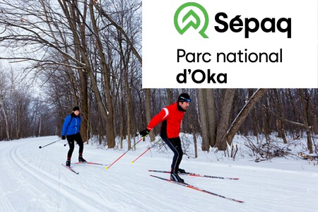 Parc national d'Oka - Sentiers et informations