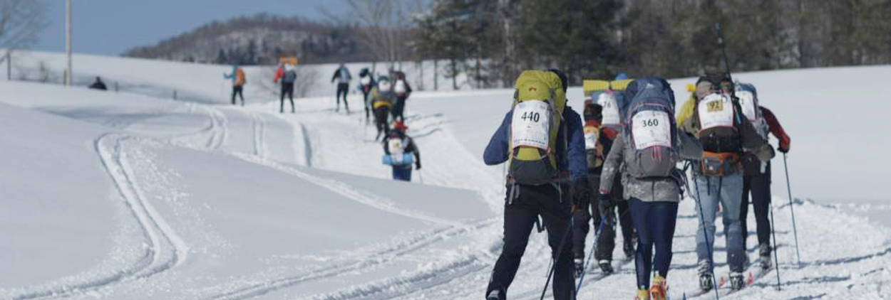 Compétition de ski de fond