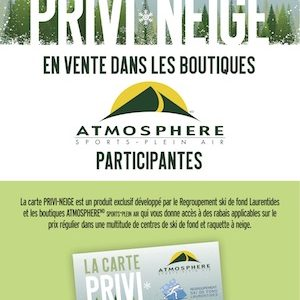 Carte PRIVI-NEIGE